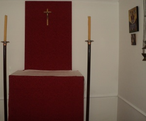 Pre-Norman Altar style