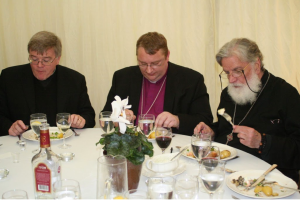 FR MICHAEL AT CATHEDRAL CONSECRATION LUNCH